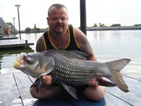 siamese giant carp fishing thailand