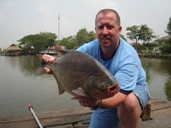 fishing thailand pacu