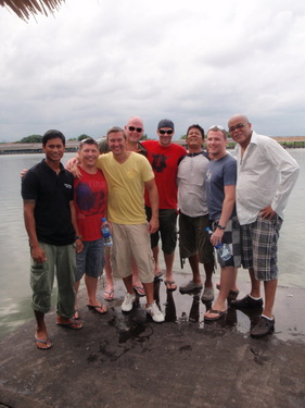 Stag Do fishing Thailand