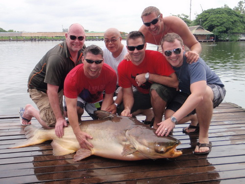 Stag Do fishing event Thailand