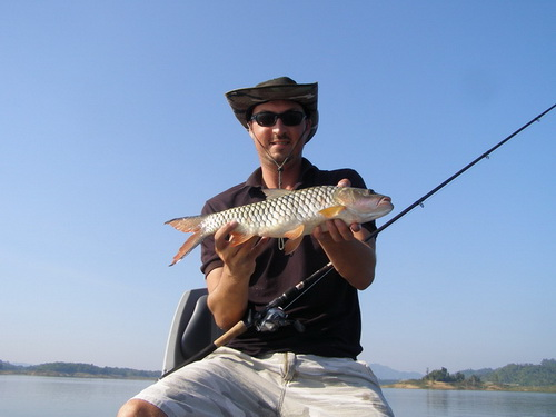 Jungle Perch Fishing in Thailand