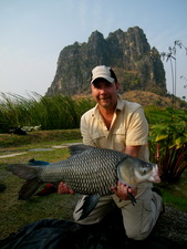 fishing in Cha Am Thailand