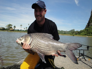 fishing Thailand for carp
