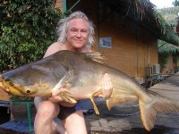 Mekong Giant Catfish Fishing Bangkok