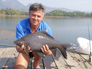 Jungle carp fishing Thailand Khao Laem Dam