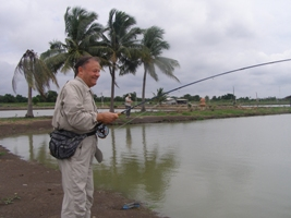 fly fishing in Thailand