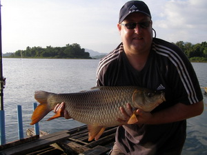 Indian Carp fishing in thailand