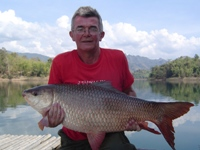 Rohu or Indian Carp fishing in Thailand - the wildest carp fishing adventure