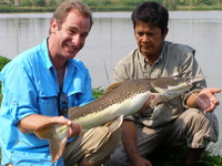 Robson & Alley fishing in Thailand