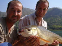 Robson Green carp fishing in Thailand