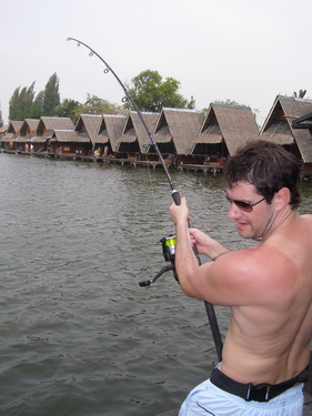 how to catch catfish in a lake from the bank