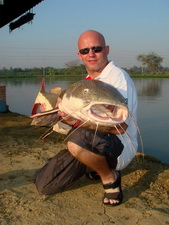 From Amazon to Thailand - the redtail catfish stocked into IT Lake Monsters Ratchaburi