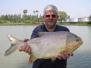 Pacu fishing at IT Lake  Monsters