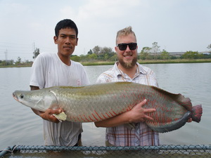 IT Lake fishing in Thailand