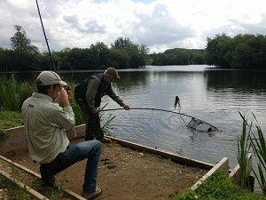 tim blyth fishing homersfield lake norfolk