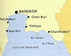 Koh Samet Map Location