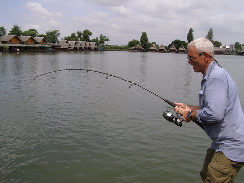 Jeremy wade fishing in thailand for Jeremy wade fishing rod