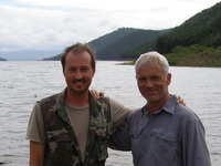 Jeremy Wade & Eddy Mounce together research the Killer Snakehead for River Monsters