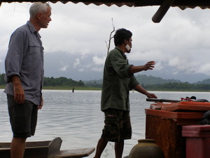 Lang - snakehead attack survivor speaks with Jeremy Wade presenter of River Monsters